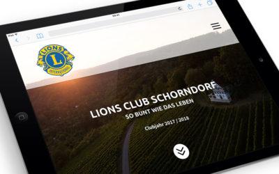 Eine neue Website zum Jubiläum